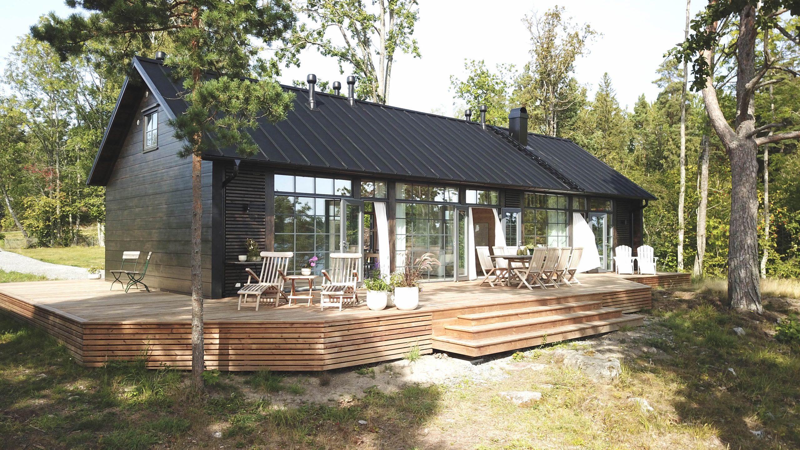 Construcciones acristaladas que se integran con la naturaleza